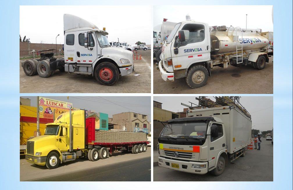 tasaciones en Perú - tasacion de tractos cisternas camiones